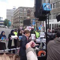 No, CNN no se ha inventado una noticia sobre una protesta de musulmanes contra los ataques de Londres