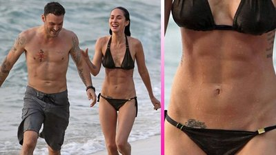 Pedazo de abdominales tiene Megan Fox, qué pasada