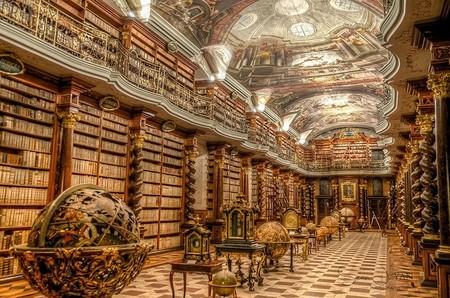 Library Biblioteca Praga Prague