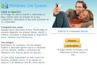 Windows Live Spaces cumple tres años