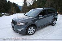 Chevrolet Captiva, presentación y prueba en Austria (parte 1)