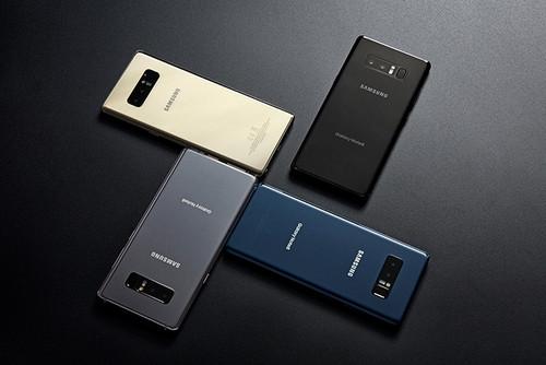 Samsung Galaxy Note 8, comparativa: así queda frente a la gama alta de Android