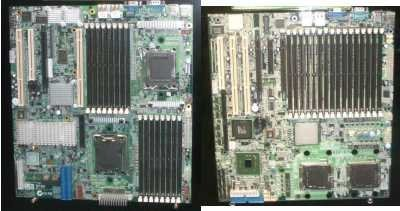Placa base con 16 slots de memoria RAM