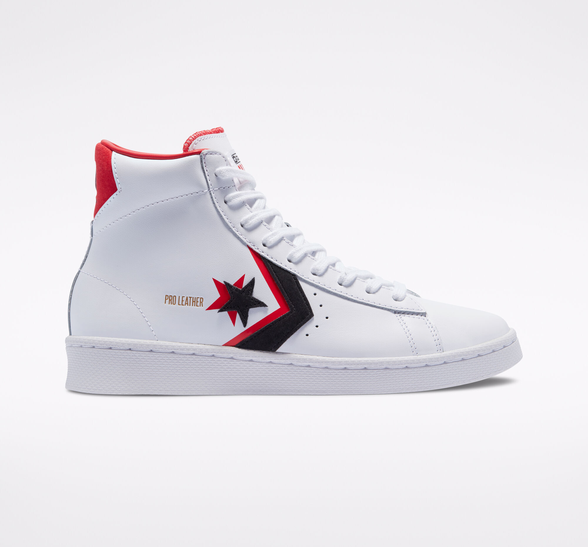 Pro Leather Double Logo High Top