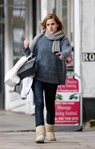 Emma Watson de compras por Londres