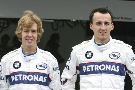 Vettel Kubica Bmw F1