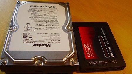 Disco duro vs. disco sólido