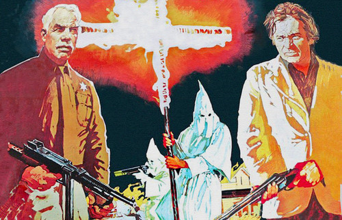 'El hombre del Klan', cuando Lee Marvin y O.J. Simpson se liaron a escopetazos contra los supremacistas blancos