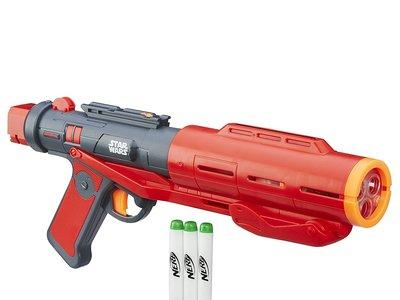 Bláster Star Wars Nerf, con sonido y dardos luminosos, por 28,85 euros en Amazon