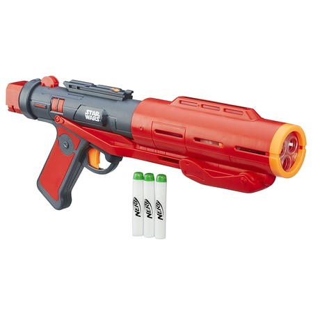 Bláster Star Wars Nerf, con sonido y dardos luminosos, por 28,85 euros en Amazon