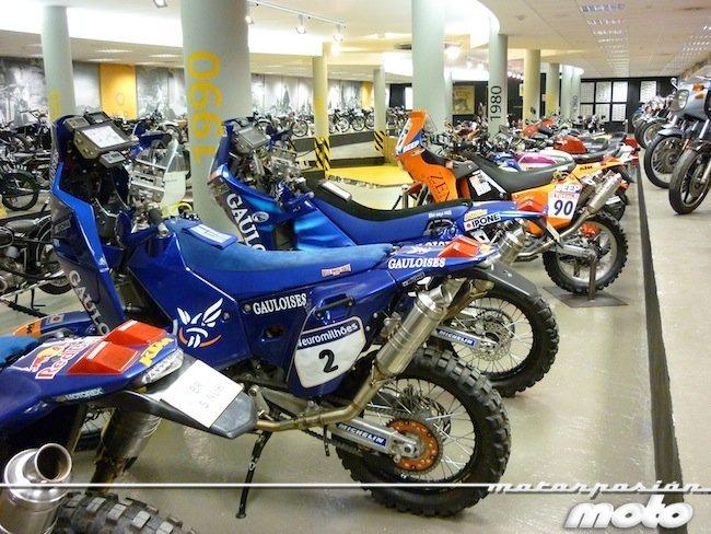 Motos Cyril Despres Ktm museo Canillo (Andorra)