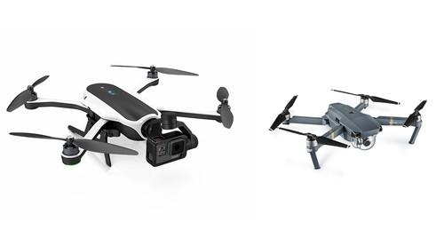 Mavic Pro vs. Karma: DJI y GoPro han creado los drones que estábamos esperando