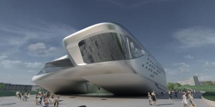 Impactante diseño arquitectónico de Zaha Hadid