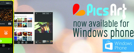 PicsArt disponible para todos los smartphones Windows Phone 8