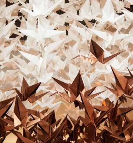 Casaca Grullas Empaperart Origami