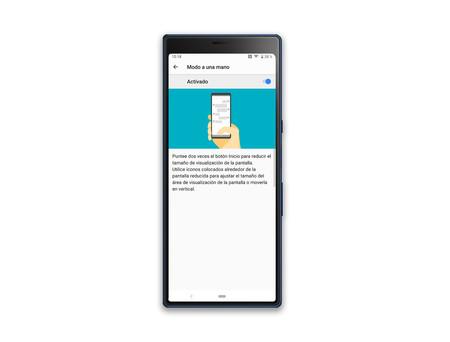 Sony Xperia 10 Plus Modo Una Mano