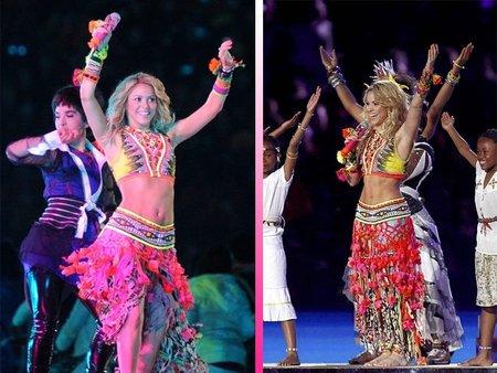 Shakira clausura el Mundial de Fútbol a ritmo de su 'Waka-Waka'