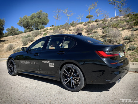 BMW Serie 3 2019 lateral trasera
