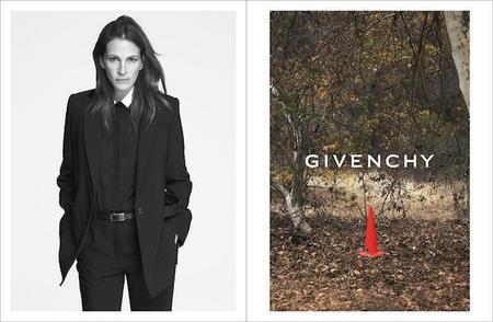 Celebridades mayores de cuarenta protagonizan las campañas de moda de Versace y Givenchy para la primavera 2015.