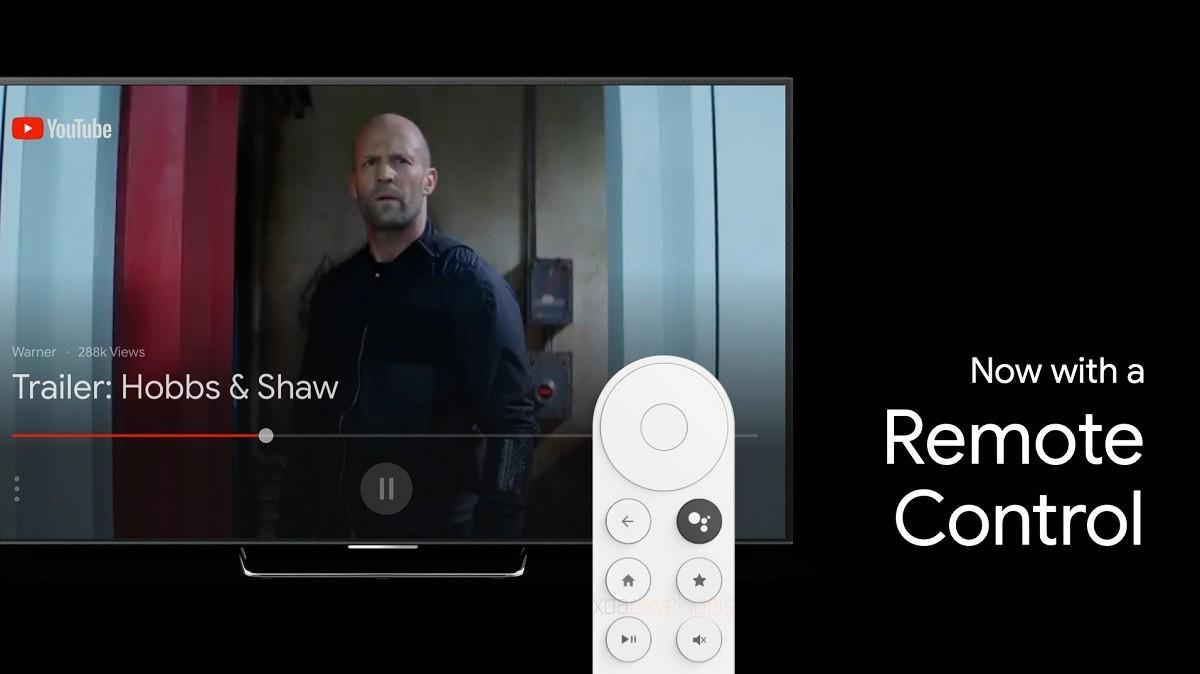 Se filtra el nuevo Chromecast de Google equipado con control remoto y la nueva interfaz de Android TV