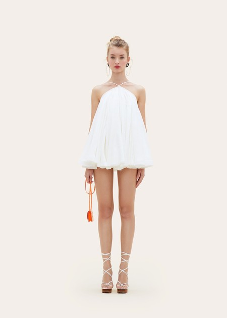 Jacquemus White Mini Dress