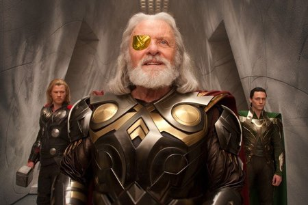 'Thor', nueva imagen con Chris Hemsworth, Anthony Hopkins y Tom Hiddleston (y la película se convertirá a 3D)