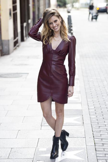 Vestido De Cuero 1