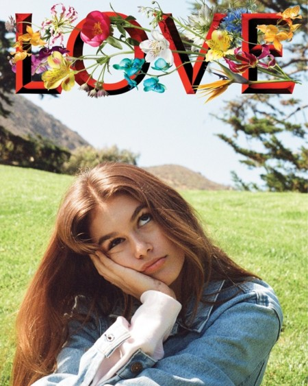 Kaia Gerber Love Magazine Fall Winter 2016 Covers01