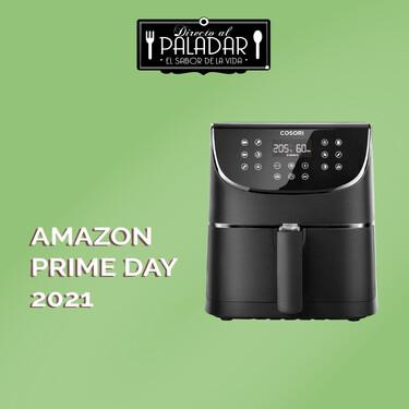 Amazon Prime Day 2021: la freidora sin aceite más vendida es esta Cosori que encontramos rebajadísima hoy