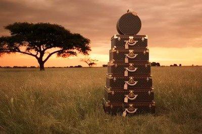 Louis Vuitton nos lleva de safari con su última colección en maletas