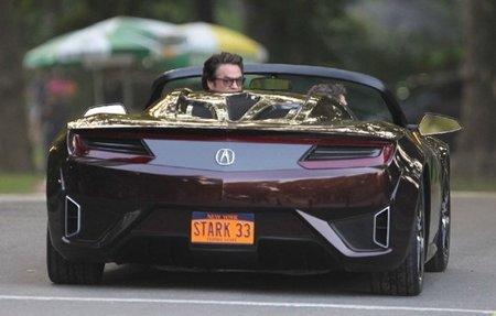 El nuevo Honda NSX podría pasearse por la película Los Vengadores