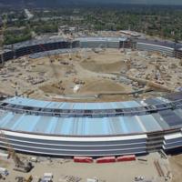 El Apple Campus 2 es más impresionante que nunca, esta es su evolución en agosto de 2016