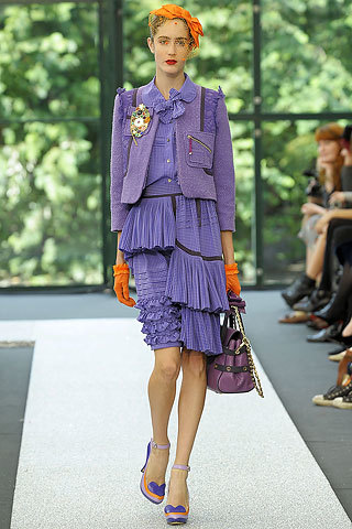 Luella en la Semana de la Moda de Londres primavera-verano 2009