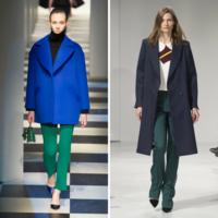 Combinaciones de verde y azul