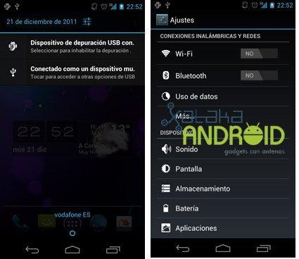 Análisis Galaxy Nexus