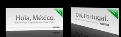 Nuevas Apple Store Online en México y en Portugal
