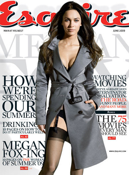 Un dia con Megan Fox y Esquire