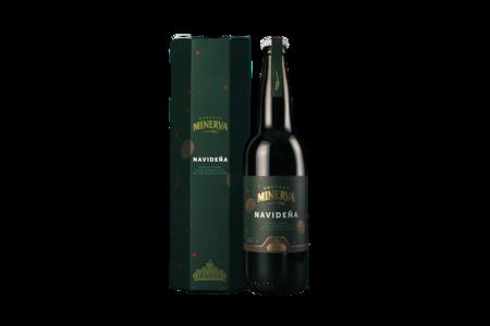 Foto Sin Fondo Cerveza Navidena Caja Y Botella