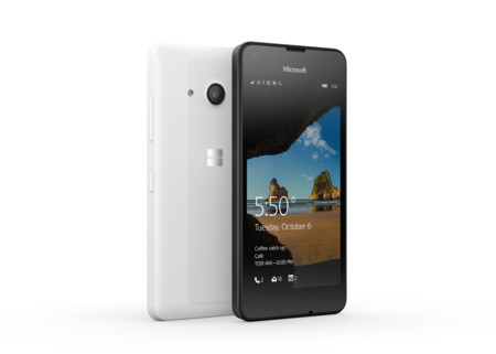 Este es el Lumia 550, un equipo de gama baja con Windows 10