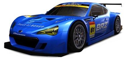 El Subaru BRZ GT300 de competición se deja ver