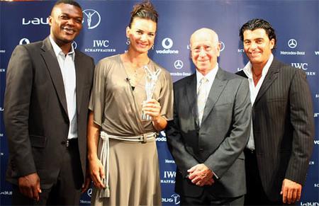 Yelena Isinbayeva, Laureus World Sportswoman of the Year