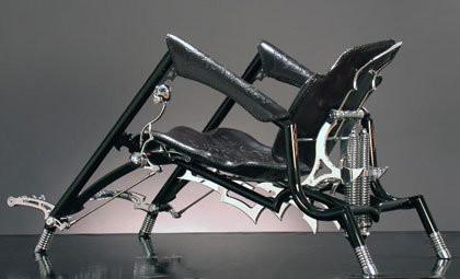 GothRod, la chopper-silla