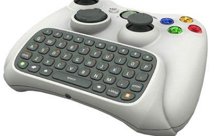 XBox 360 Messenger Kit, teclado para la consola de Microsoft