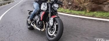 Probamos la Triumph Trident: una moto naked para el carnet A2 con el motor justo, mucha polivalencia y un toque sport
