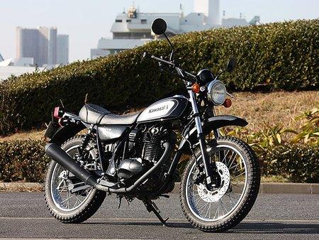 Kawasaki 250 TR, Scrambler clásico solo para Japón