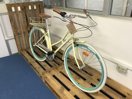 Bicicleta Paseo Oficinas Santa Fixie