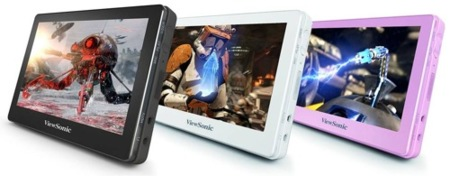 ViewSonic MovieBook, reproductores multimedia portátiles