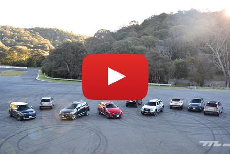 Comparativa: ¡Al ring con 10 de los B-SUV a la venta en México! (video)