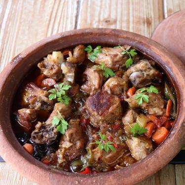 Guiso de cordero a la marroquí: receta sencilla en tajine