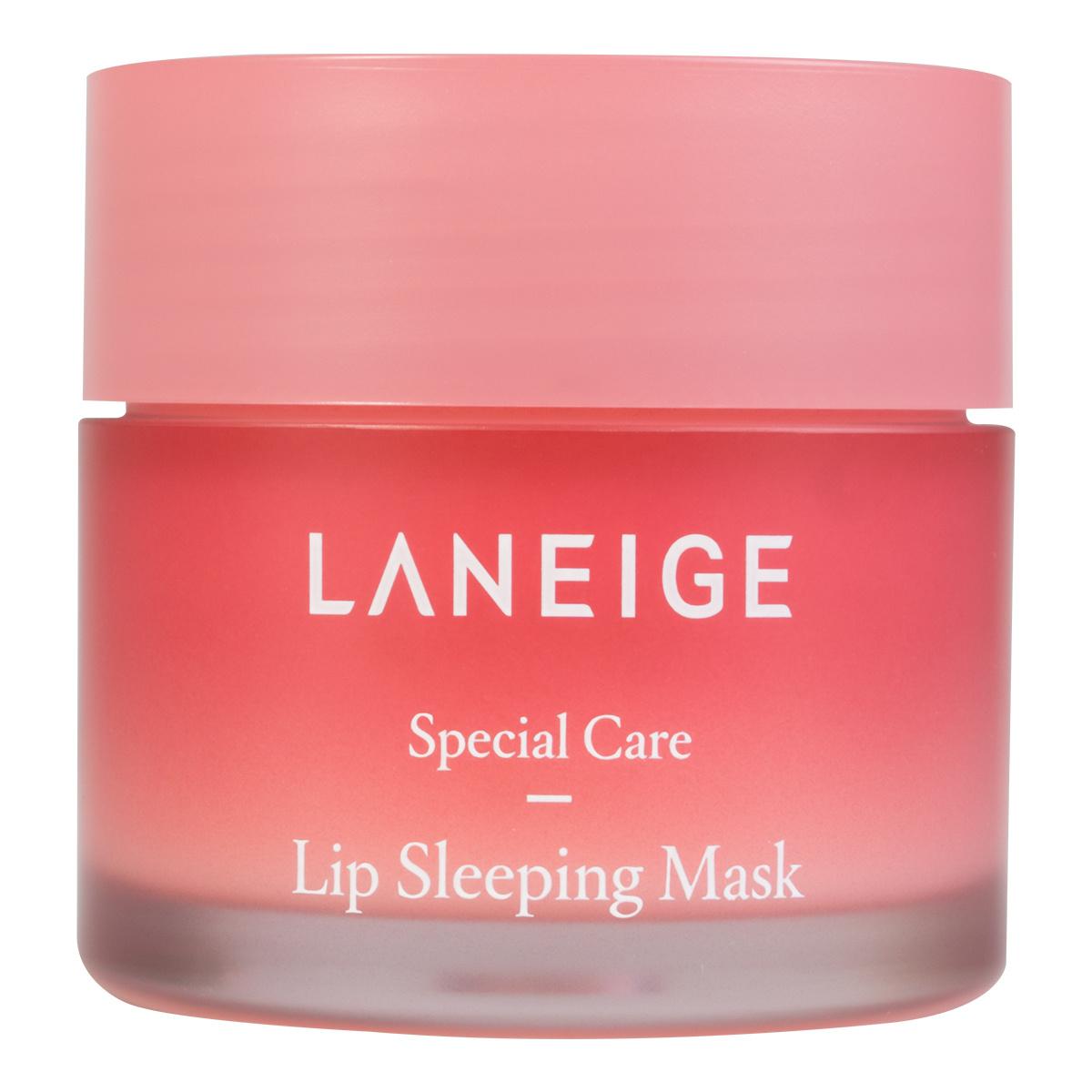 Mascarilla de noche labios de Laneige